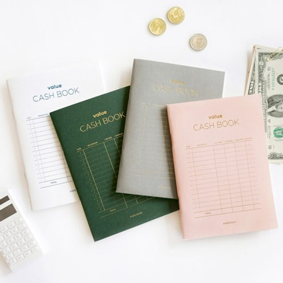 PAPERIAN Value simple cash book planner scheduler