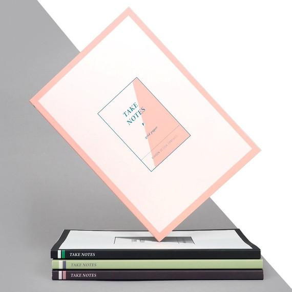 Rihoon Take notes grid notebook ver2