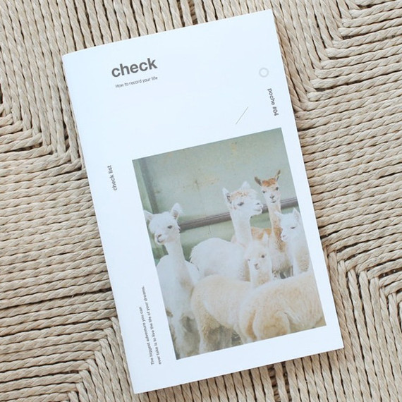 Poche check checklist notebook