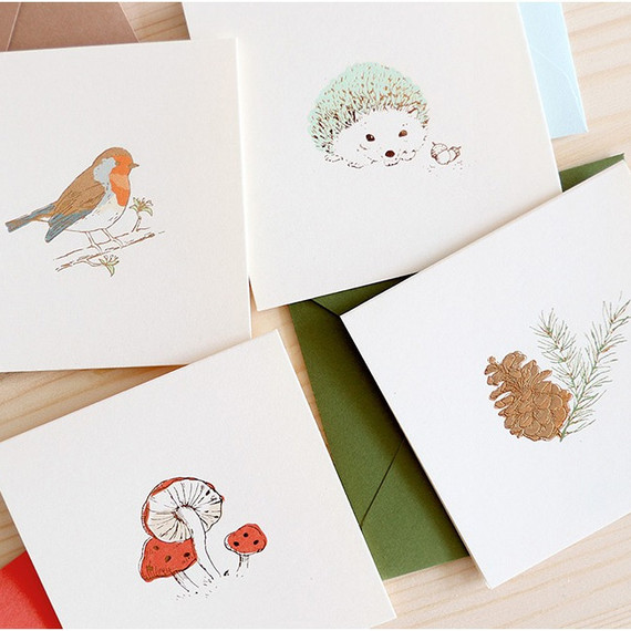 From the forest mini card with envelope