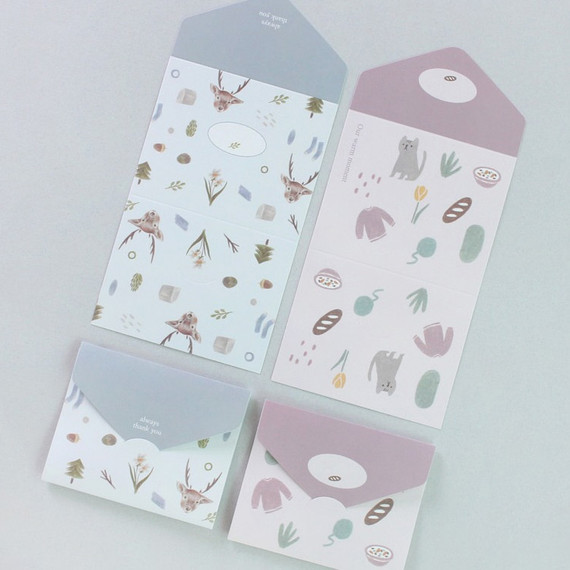 Our warm moment small folding letter paper set