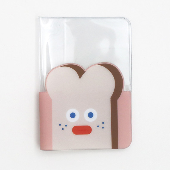 Brunch brother clear passport cover case holder