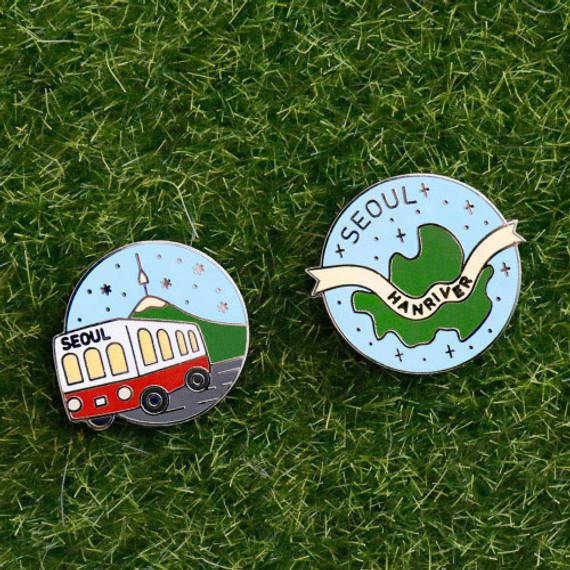 gyou Take a trip Seoul badge
