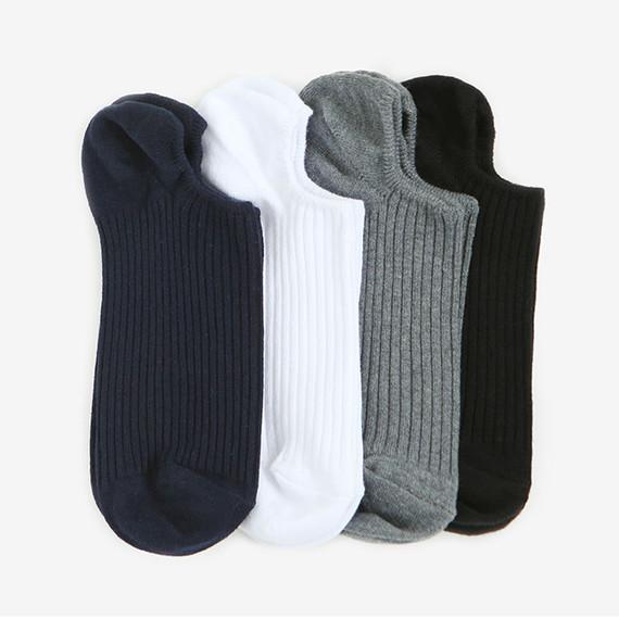 Dailylike Daily basic men no show socks
