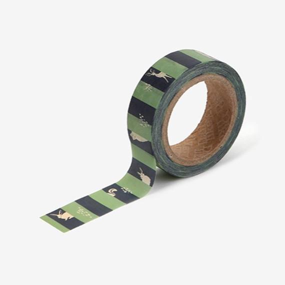 Dailylike Deco 0.59X11yd single masking tape - Hide and seek