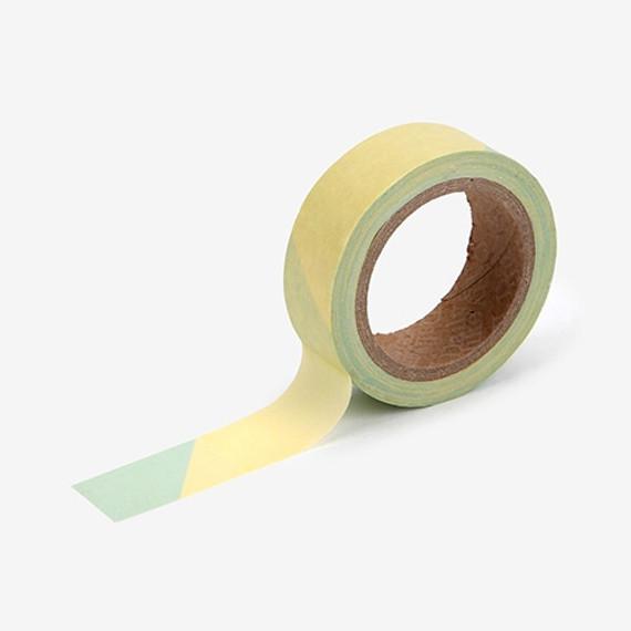 "Dailylike Deco 0.59""X11yd single masking tape - Simple oblique 2"