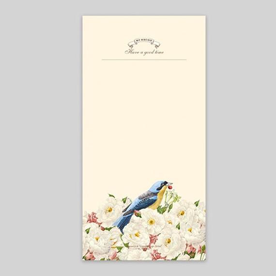 NACOO Have a good time bird plain notepad