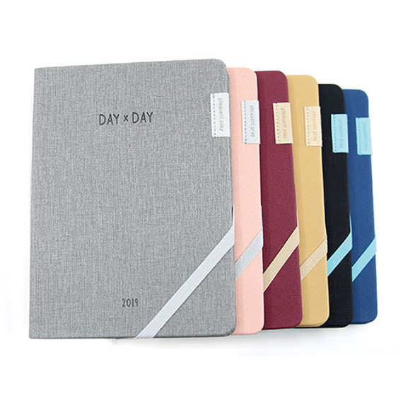 2019 Day by Day large dated weekly diary