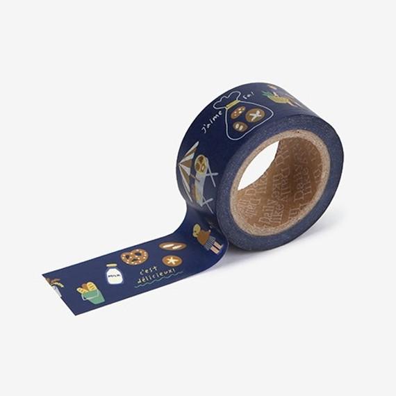 Dailylike Deco 25mm single roll masking tape - Bakery