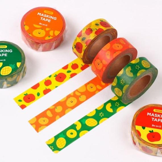 Fruits pattern masking tape 15mm X 10m