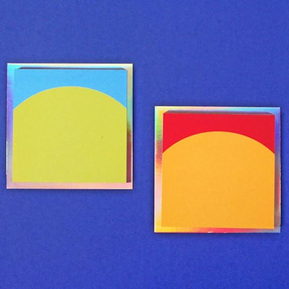 Lucalab Sunrise plain memo notepad