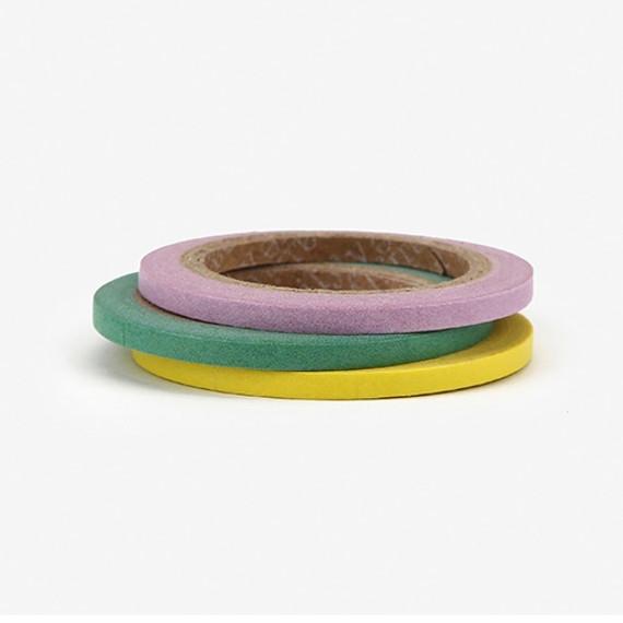 Dailylike Pastel 3mm deco masking tape 3p set