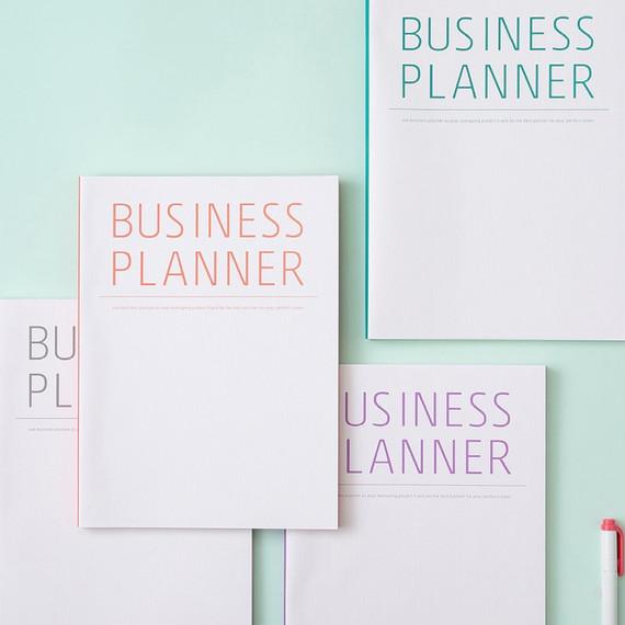 Ardium Business 3 months dateless daily planner scheduler ver3