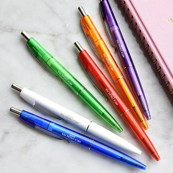 Play obje Arch stroke 1mm black ballpoint pen