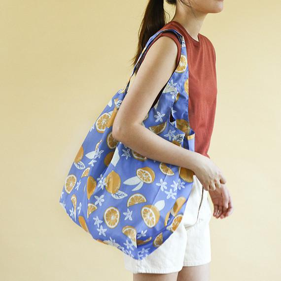 Dailylike Pocket XL shopping travel foldable shoulder bag