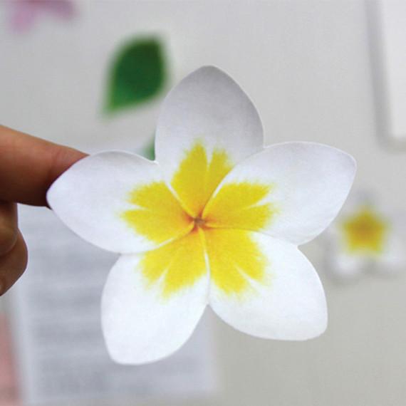 Inndesign Plumeria sticky note 30 sheets