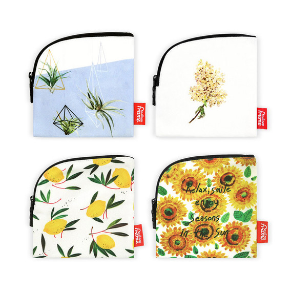 All new frame B collection mini zipper pouch