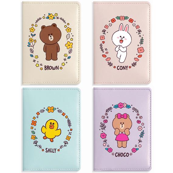 Monopoly Flower line friends card case holder