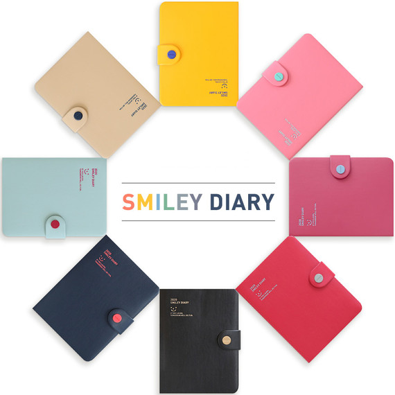 Monopoly 2020 Smiley dated daily diary with tray