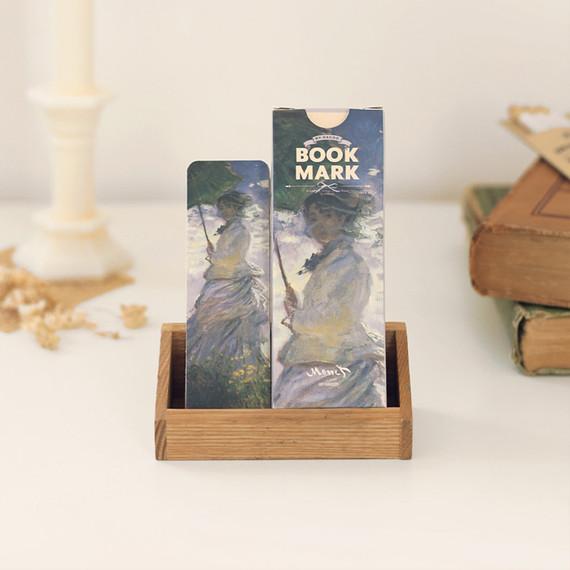 NACOO Claude Monet bookmark set