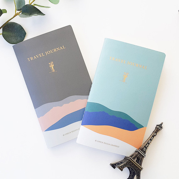 O-CHECK Travel planner journal notebook