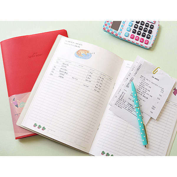jam studio jam jam cash book planner note fallindesign