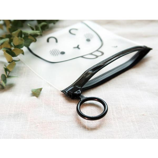 Bookcodi Molang zip lock small pouch ver2 - fallindesign.com