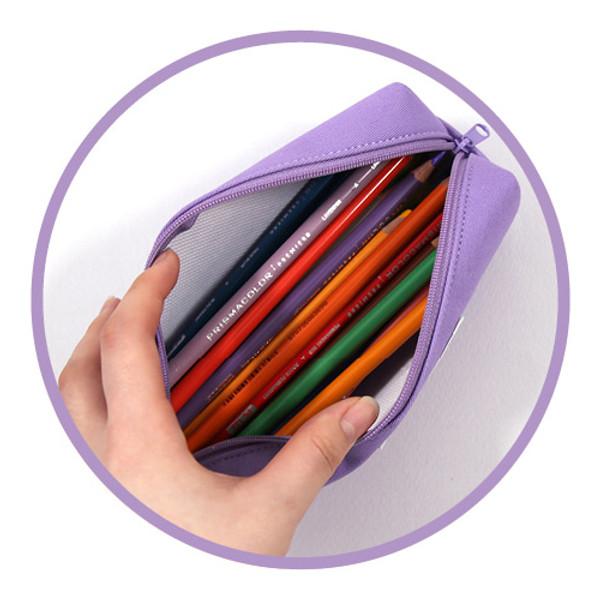 Etudes Zipper Fabric Pencil Case Pouch