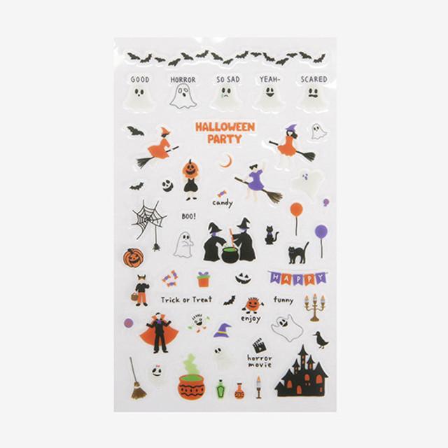 Daily transparent sticker - Halloween