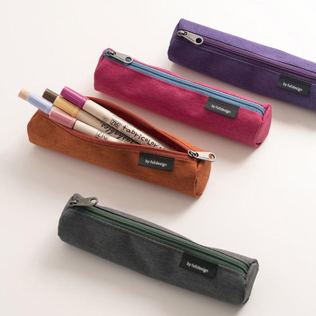 Byfulldesign Tiny but Big tube zipper pencil case