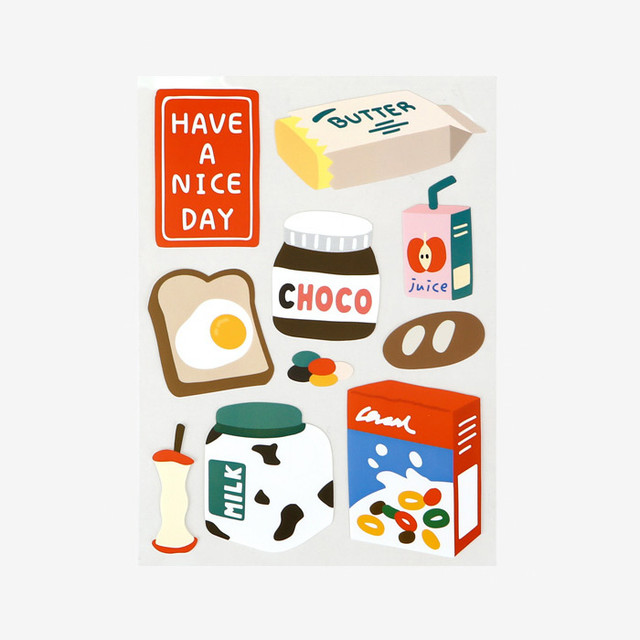 Dailylike Good morning removable paper deco sticker