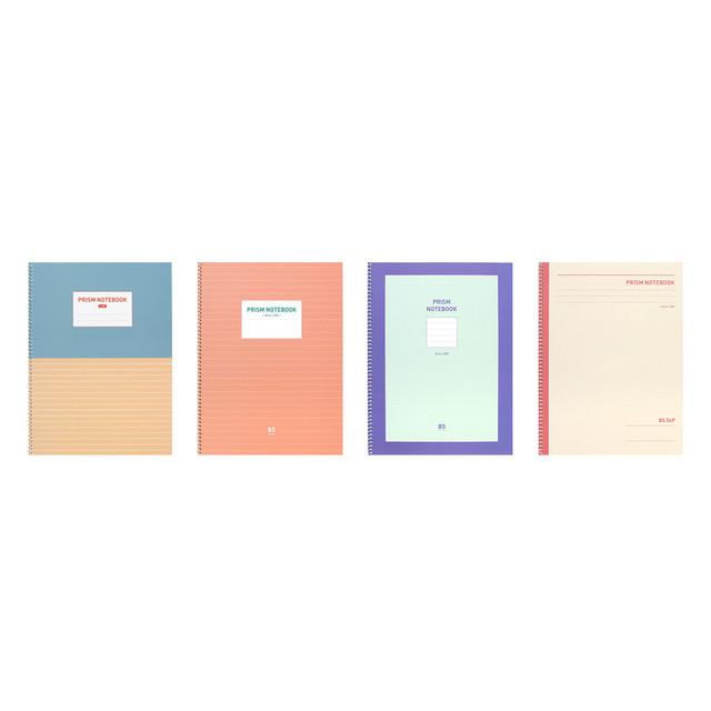 Indigo Prism 56 spiral bound B5 lined notebook