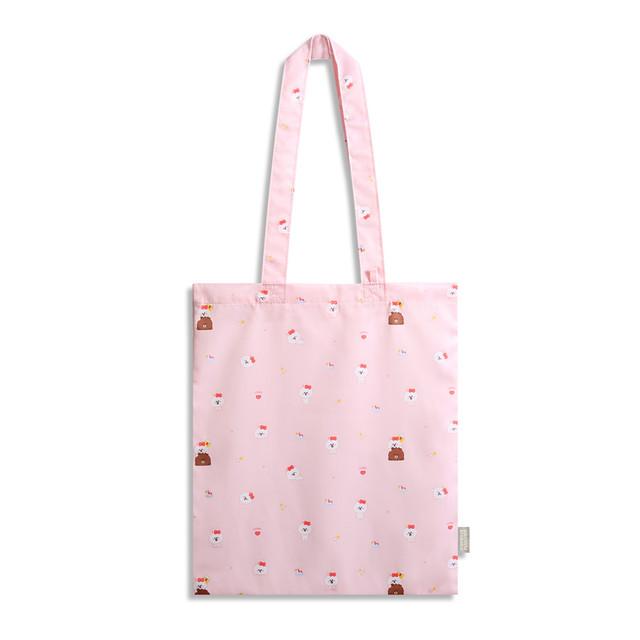Monopoly Brown friends mini pattern shoulder bag