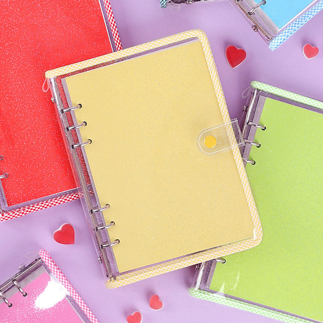 Wanna This Picnic check A5 6-ring dateless monthly planner