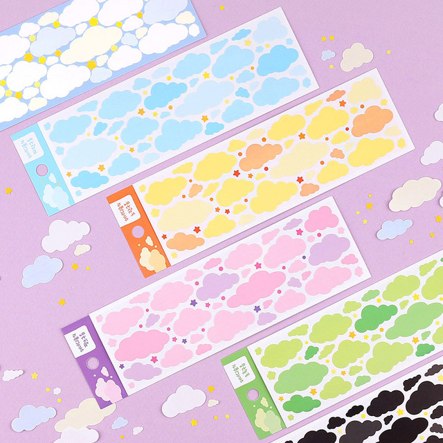 Wanna This Forest's cloud paper sticker