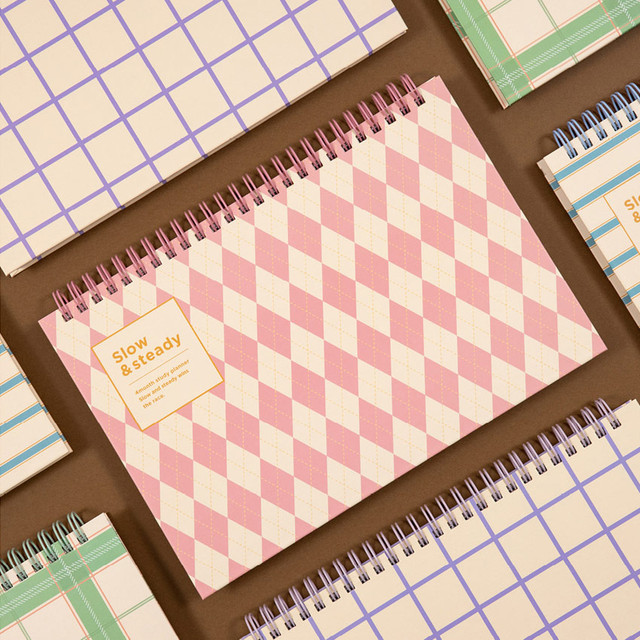 Ardium Slow and steady 4 months dateless study planner