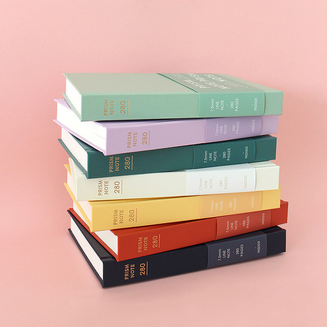 Indigo Prism 280 hardcover lined notebook