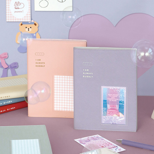 ICONIC Bubbly dateless weekly diary planner