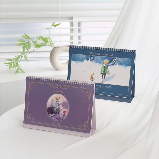 Indigo 2022 Prince Story monthly desk standing calendar