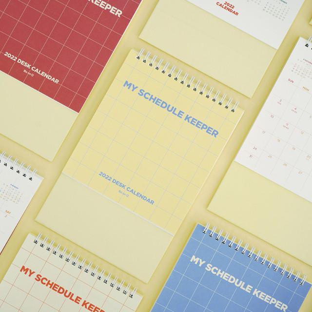 After The Rain 2022 My Schedule Keeper Monthly Desk Calendar