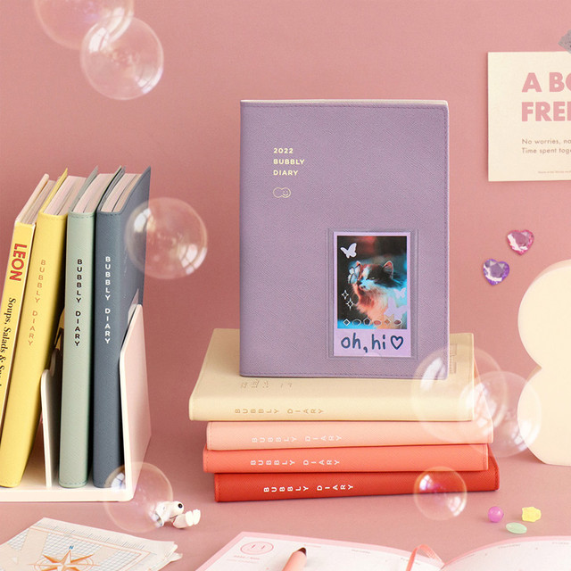 ICONIC 2022 Bubbly Dated Weekly Diary Planner