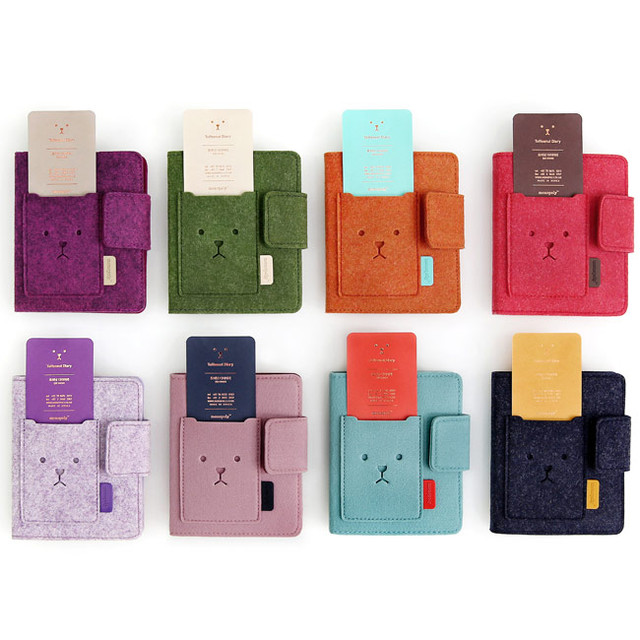 Colors of 2014 Warm and cute toffeenut undated diary