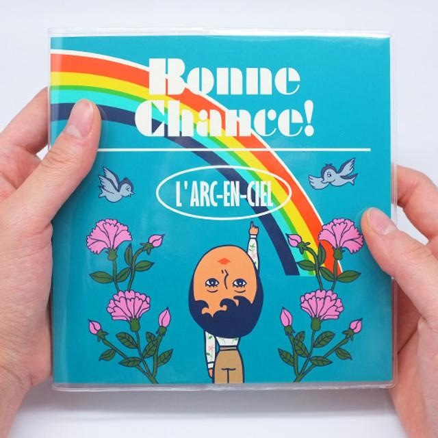 Bonne chance simple rainbow undated planner