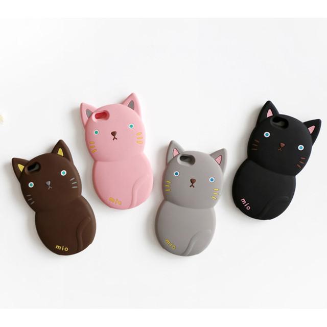 Monomate cute cat iPhone 6 jelly case