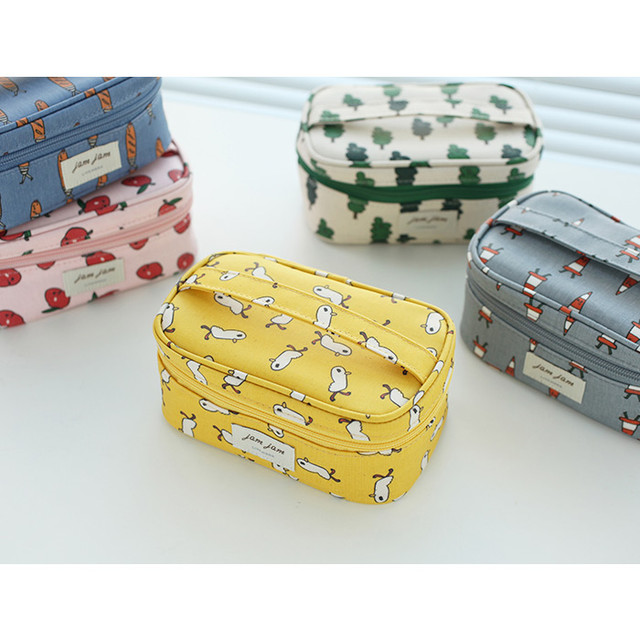 Jam Jam cute illustration make up cosmetic pouch