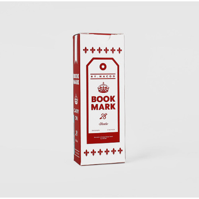 Carry on vintage bookmark set