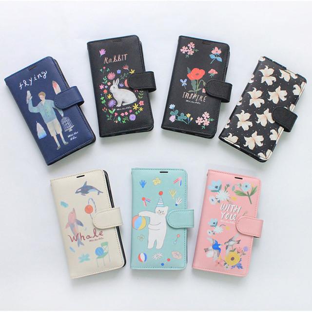 Rim diary flip case for iPhone 6