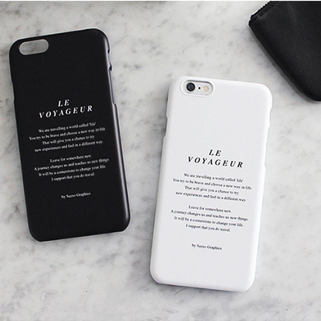 Le voyageur polycarbonate case for iPhone 6 6S