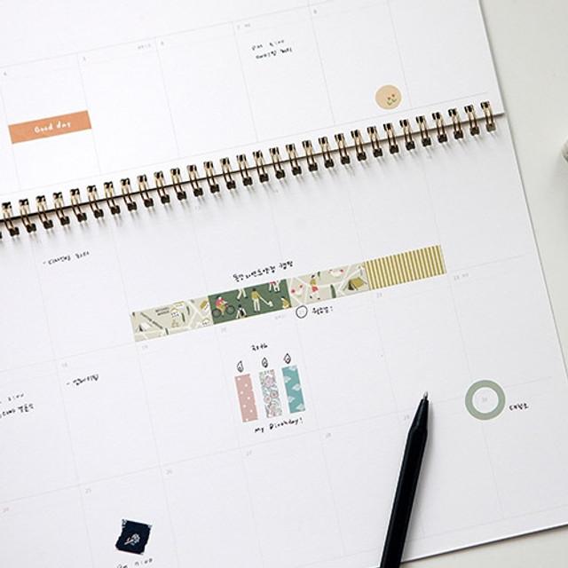 Dailylike Paper pattern sticker set