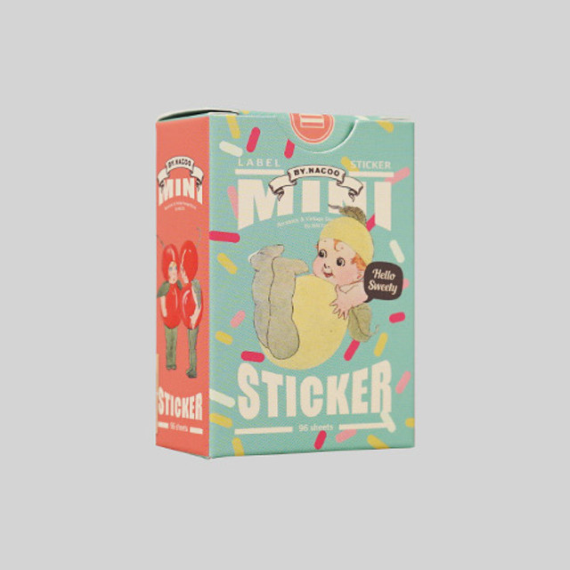 Sweety small label sticker set